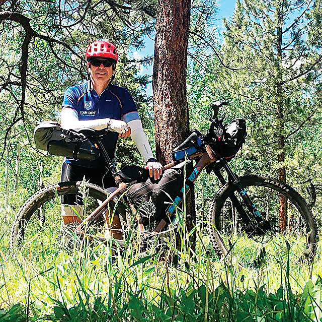 As a fundraising effort and awareness campaign, Rob Harrington is adventuring on The Colorado Trail. He left on July 15 and the southbound trip to Durango is on foot, and the return trip will be on mountain bike.