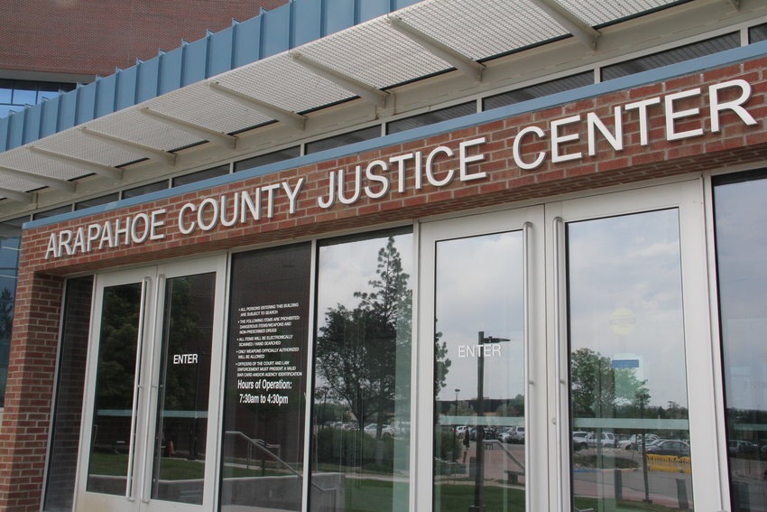 The Arapahoe County Justice Center in Centennial.