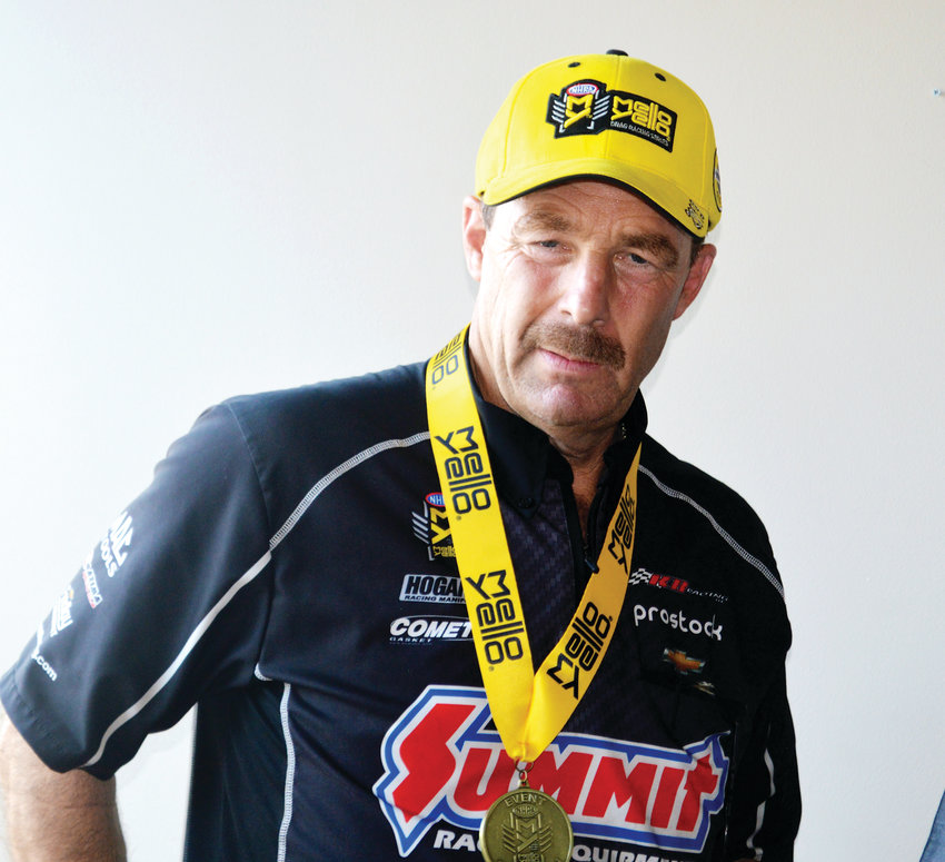 Greg Anderson won the Pro Stock finals on July 21 at the Dodge Mile High Nationals at Bandimere Speedway. It was the 92nd win of his career but the first victory since he won at Bandimere last season. The 58-year-old driver is a four-time winner in races at Bandimere.