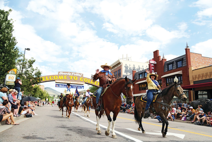 Horses took center stage during the annual Buffalo Bill Days Parade held in downtown Golden.
