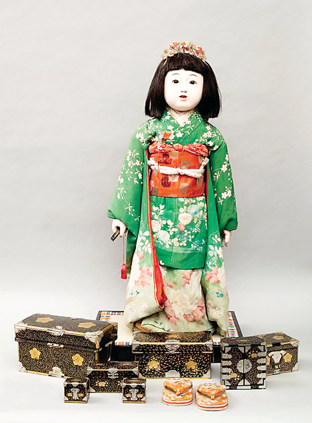 Miss Yokohama, Colorado's Japanese Friendship Doll. The doll was sent over from Japan in 1927.