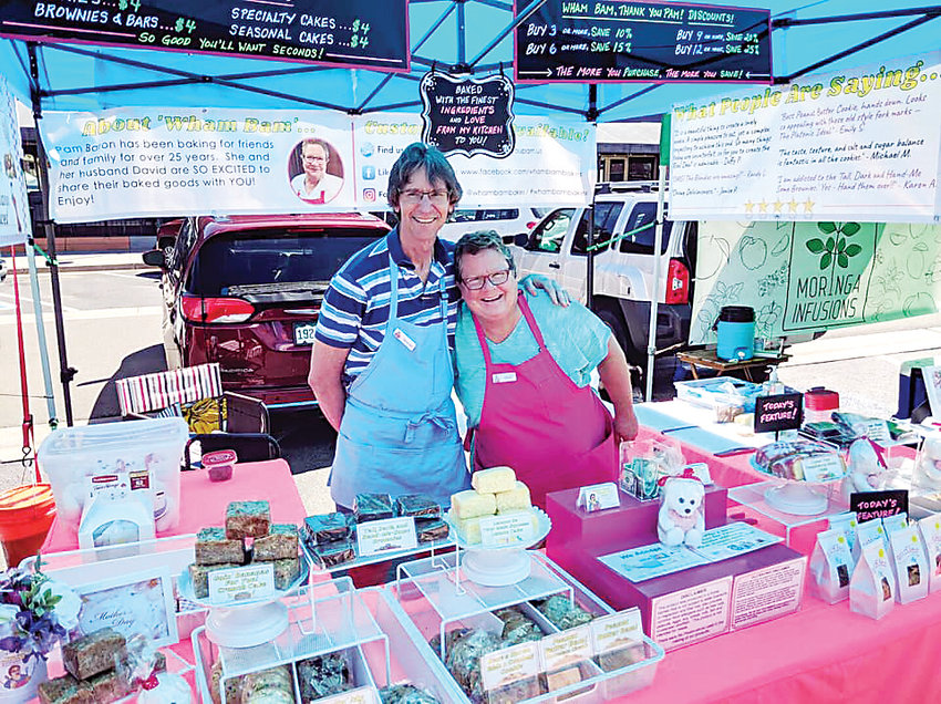 Pam Baron and her husband, David, sell homemade sweet treats at the Highlands Ranch Farmers' Market Sundays through October from 10 a.m. to 2 p.m. The market is held at Town Center.