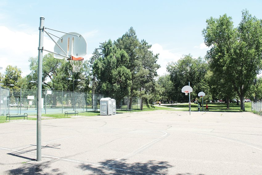 Denver Parks and Recreation recently opened the new basketball courts at Washington Park. The new courts have two full courts, as well as seating and lighting. The old courts were smaller.