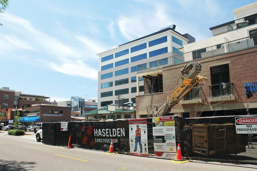 Construction projects can sometimes disrupt local businesses with loud noise, or by taking up sidewalk and parking spaces. Places like Cherry Creek North have been using events to try and draw more people into the area to frequent their businesses.