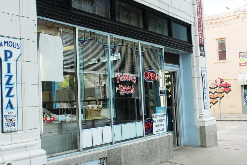 Famous Pizza closed at the end of August 2018 on South Broadway. The restaurant had been there for more than 40 years.