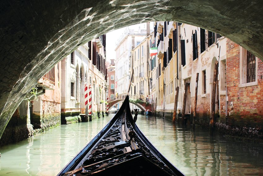 """Canal"" by Kalyca McGuire is included in the ""A Tour of Italy"" exhibit at the Colorado Gallery of the Arts, Arapahoe Community College, from Aug. 8-Sept. 12."