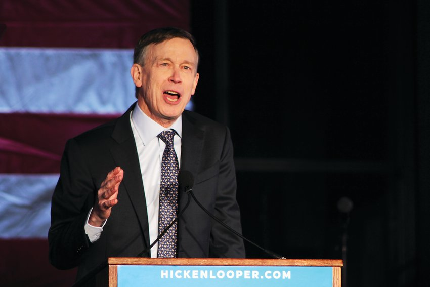 Former Colorado Gov. John Hickenlooper