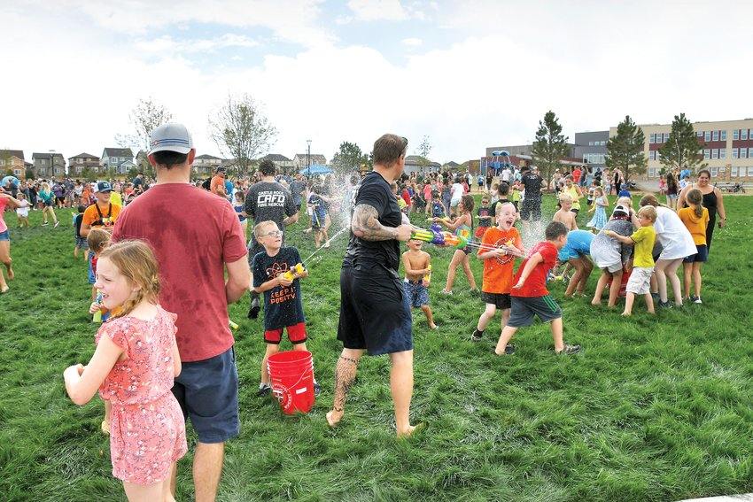 The community turned out to celebrate Castle Rock's newest community park on Aug. 17.