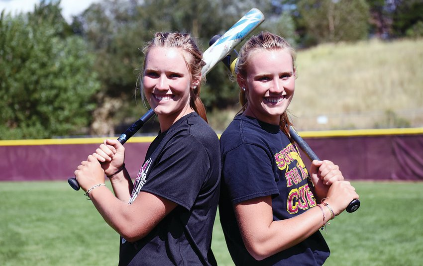 Golden seniors Makayla and Makenzie Middleton combined for 247 hits, 206 RBIs and 43 home runs through their first three seasons leading the Demons' softball program.