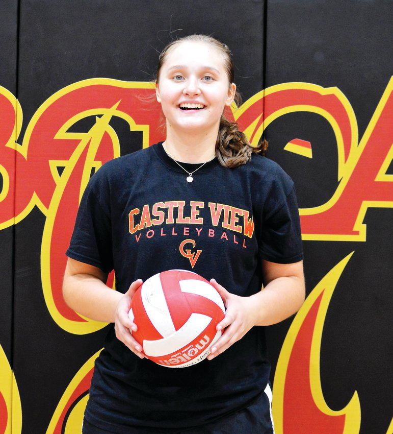 Castle View senior Leanne Lowry.