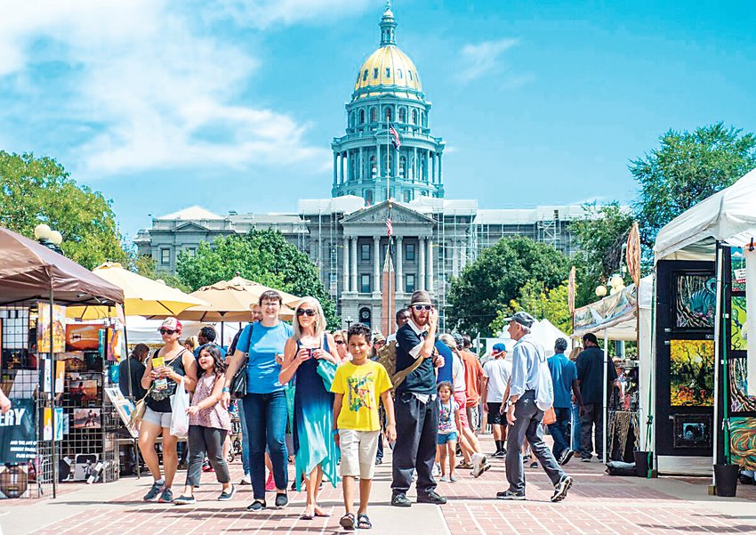 More than 500,000 people are expected to turn out for the annual A Taste of Colorado festival Aug. 31-Sept. 2.
