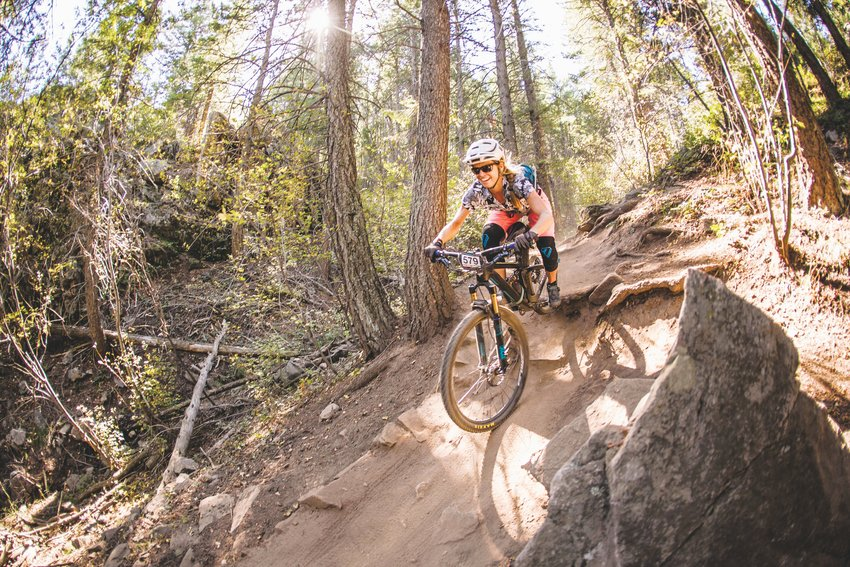 Betsy Welch participates in the 2018 Golden Giddyup — a mountain bike ride/race that features an enduro-style format, with timed descents and climbs. This year, the event takes place on Sept. 15 and registration closes on Sept. 4.