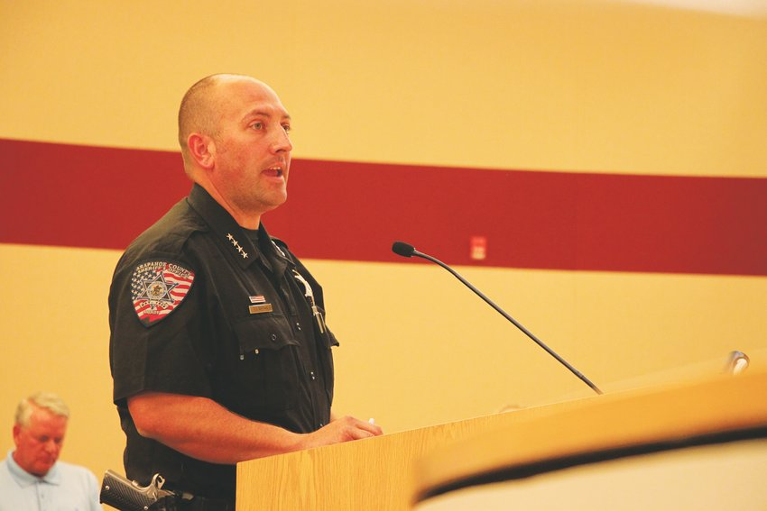 Arapahoe County's jail is worn out and in need of replacement, Sheriff Tyler Brown told county commissioners on Aug. 27. Voters will decide this fall whether to raise property taxes to build a new one.