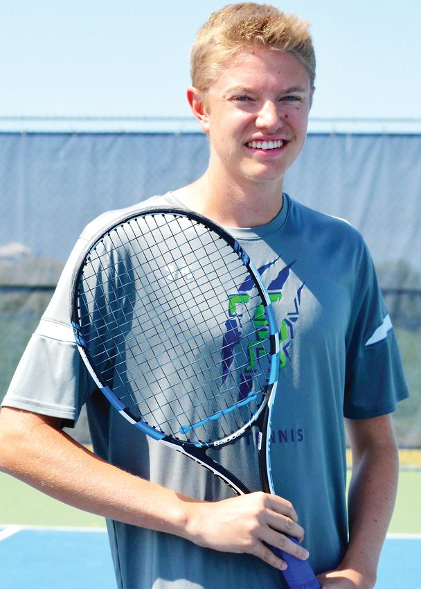 ThunderRidge senior No. 1 singles tennis player Andy Gardalen.