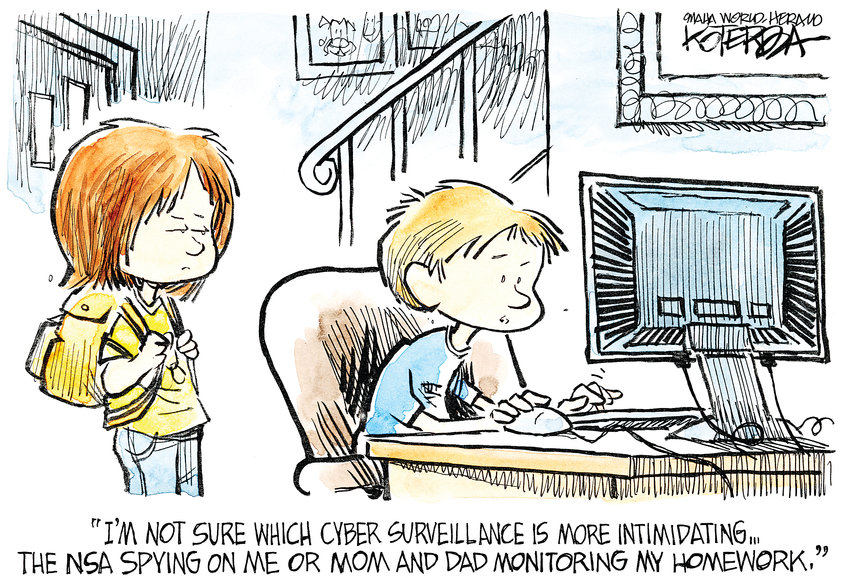 Jeff Koterba cartoon for August 22, 2013
