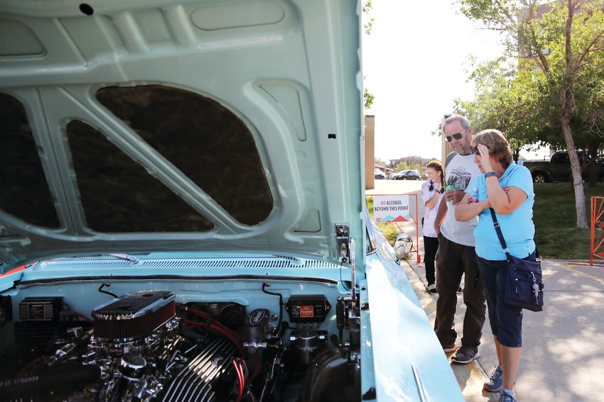 The classic car show is a big part of the festival held yearly in Wheat Ridge.