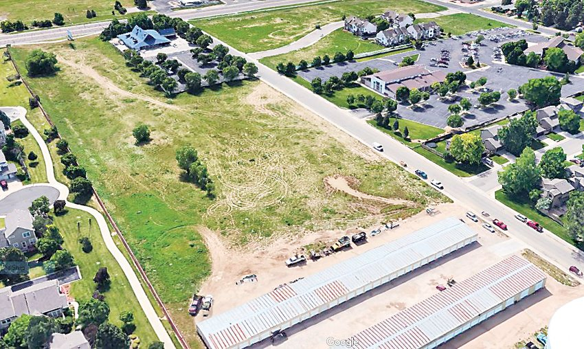 Westminster City Councilors took two nights and heard comments from more than 50 people before approving St. Mark's Village, a housing development on six acres north of 97th Avenue and east of Federal Boulevard. In this image, courtesy of Google Maps, the Wishbone Restaurant is in the upper left corner along Federal. The six acre lot surrounds the restaurant.