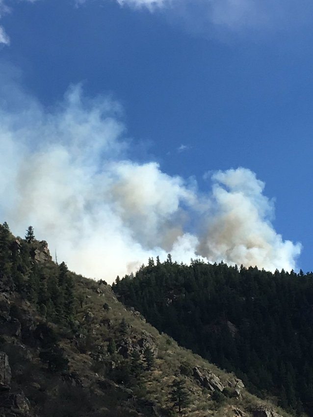 As of 3:20 p.m. Sept. 20, the Bald Mountain Fire near Golden had burned about an acre of land.