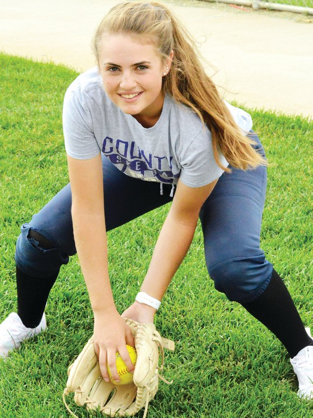 Douglas County senior shortstop Taylor Griffin.