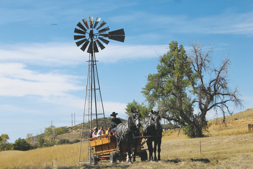 The Schweiger Ranch Fall Festival gave patrons a taste of life on the historic ranch with wagon rides and a chance to experience life on the ranch for a darn tootin' good time Oct. 5.