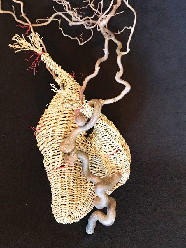 Baskets by Karen Lugenbill will be included in the Rocky Mountain Weavers' Guild Annual Fiber Arts Sale 2019, which is Oct. 10-12 at Englewood Civic Center.