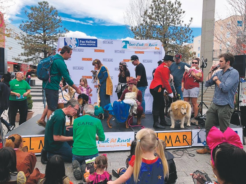 Belmar Boo will feature a Halloween pet costume contest for your furry friends. The event benefits the Foothills Animal Shelter.