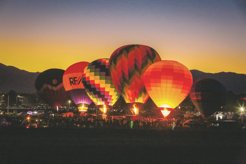 Westminster's Halloween Harvest Festival will include a hot-air balloon glow, paying homage to the old Westminster Mall.