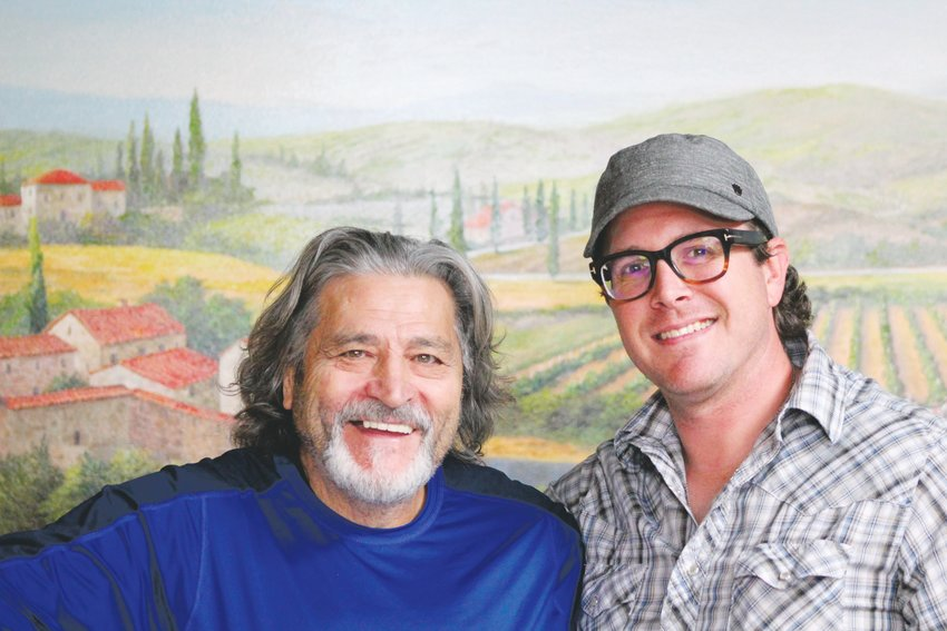 Gaspare Licata, left, and Brian Meadows. They make up two of the three owners of of Gallo Italian Supper Club and Bake. Not pictured is Vincenza Licata, another owner.