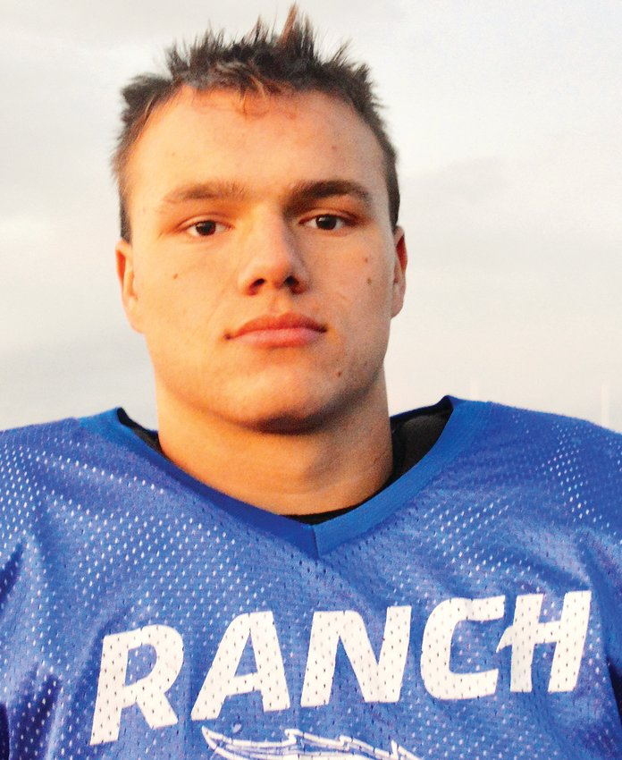 Highlands Ranch senior running back/linebacker Kole Lundquist.