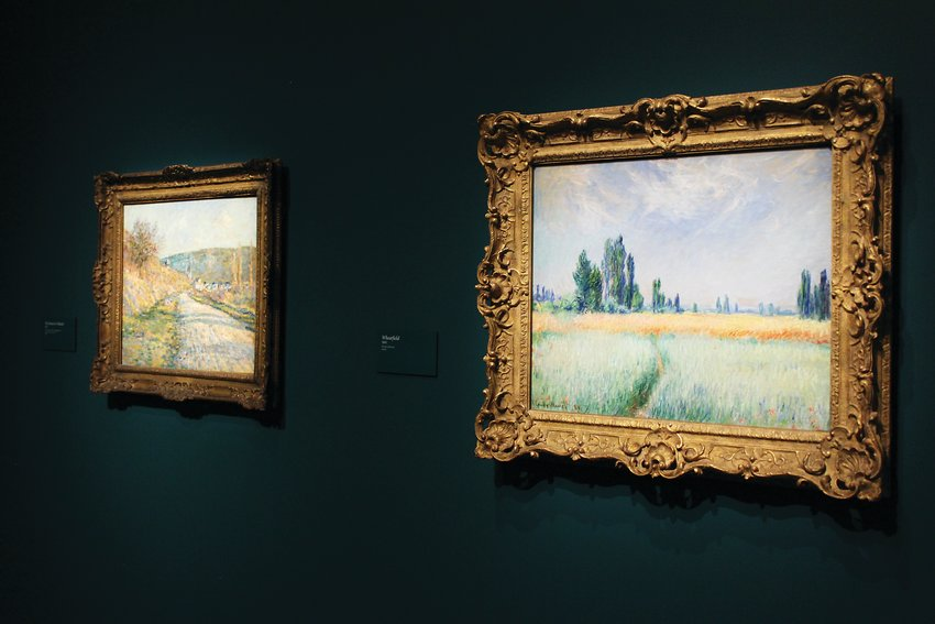 Around 120 paintings by Impressionist Claude Monet are now on display at the Denver Art Museum. It is the largest exhibit to feature the artist's work in 25 years.