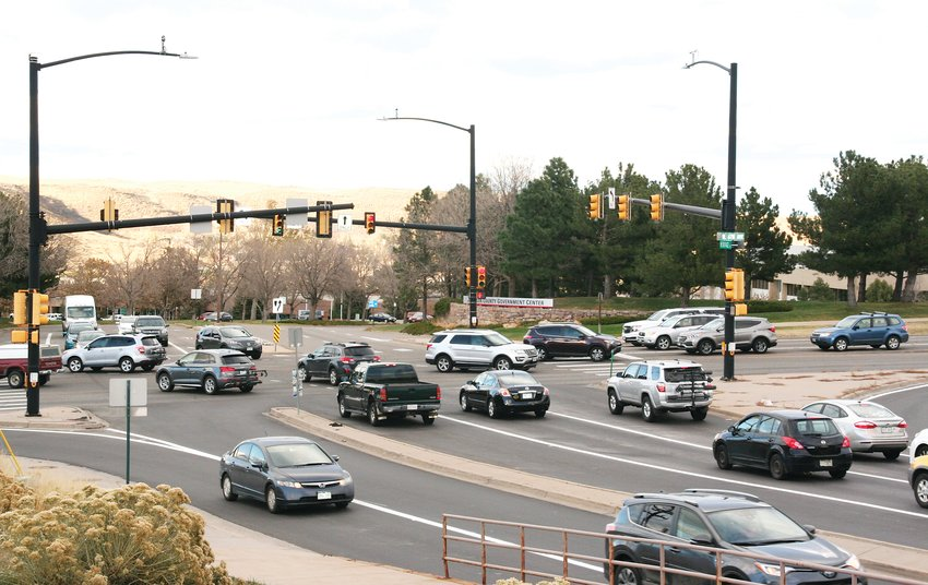 A future construction project will help with congestion and improve pedestrian and bike safety at the U.S. 6 and Heritage Road interchange.