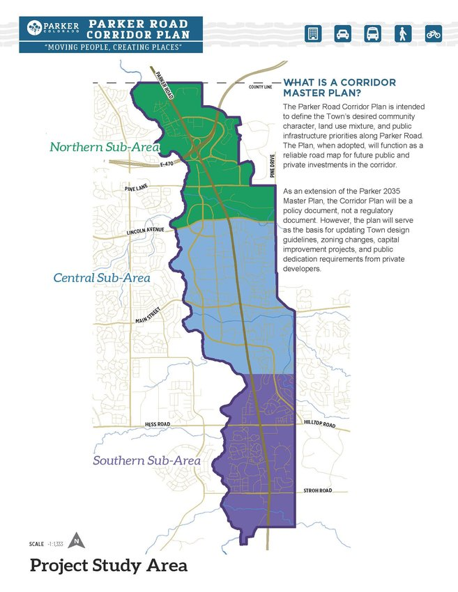 An overview of the Parker Road Corridor, from Let's Talk Parker.