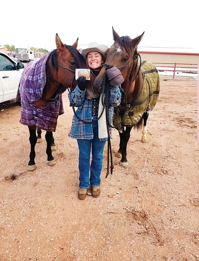 Courtney Bonine, of Elizabeth, hopes to open an Equine Event facility and include programs that benefit military veterans.