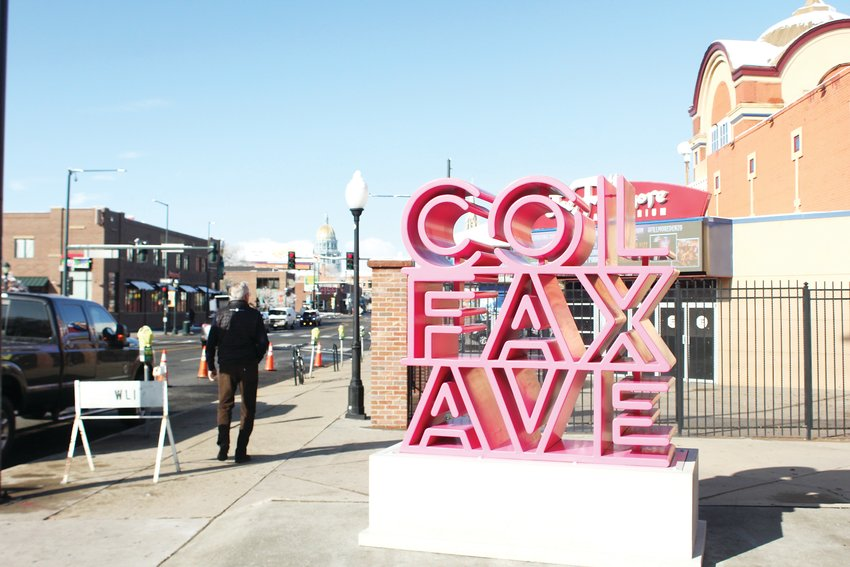 The Colfax Ave Business Improvement District installed a new sculpture outside of the Fillmore Auditorium last month. The sculpture is part of the BID's overall Streetscape Plan, which aims to improve the safety, appearance and development along Colfax corridor.