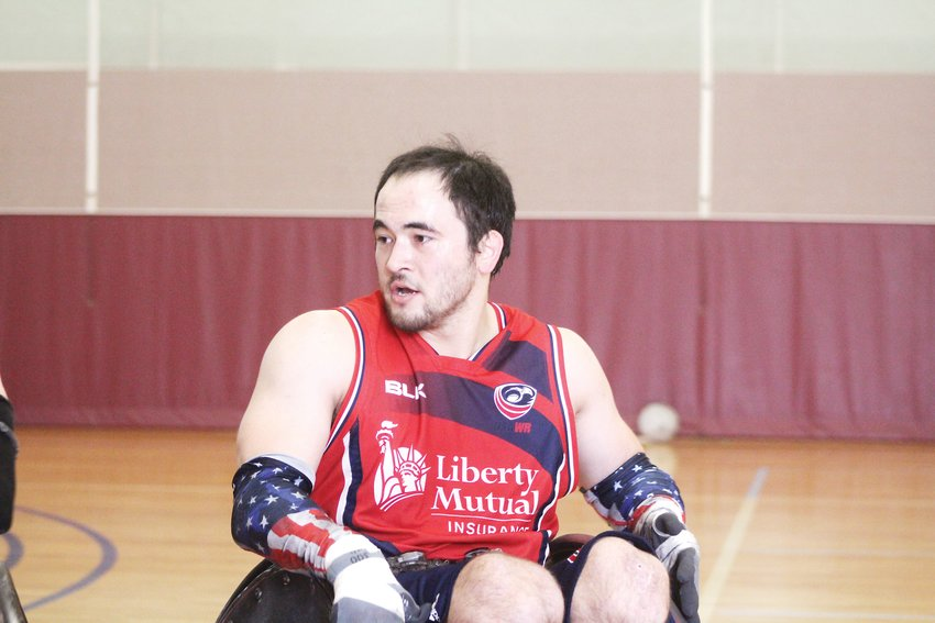 Chuck Aoki has been part of the USA Wheelchair Rugby team since 2009 and recently competed in the 2019 Parapan American Games in Lima over the summer.