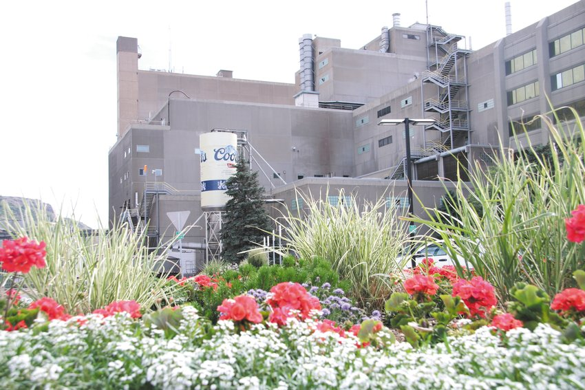 The Golden Coors Brewery.