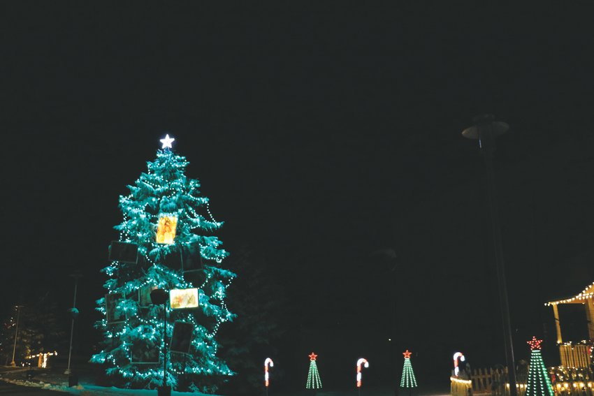 Driving through the holiday light show takes about 15 minutes. The event is free but the church is accepting donations for the Cherry Hills Community Church program to help homeless and impoverished people in Douglas County.
