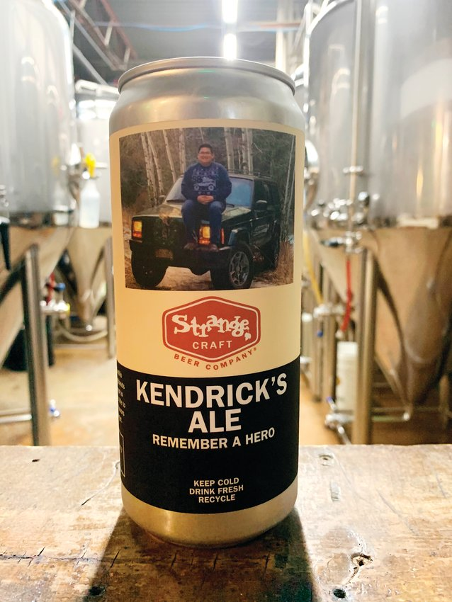 "The owner of Strange Craft Beer Company in Denver decided to create a beer in honor of Kendrick Castillo, who was killed in the May 7 STEM School Highlands Ranch shooting. The brewery also created a custom label for the beer, called ""Kendrick's Ale: Remembering a Hero."""