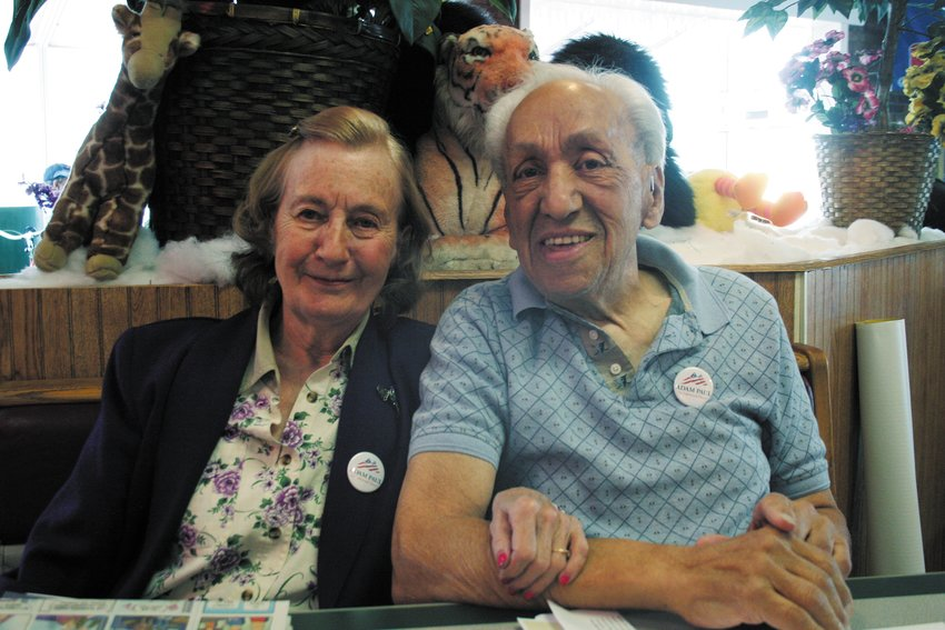 LuAnne and Joe Margotte, pictured in 2015.