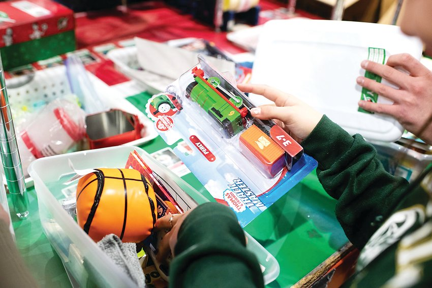 Operation Christmas Child is a mission through Samaritan's Purse to provide small toys, hygiene products and school supplies to children in need outside of the United States and to children living on Native American reservations in the country.