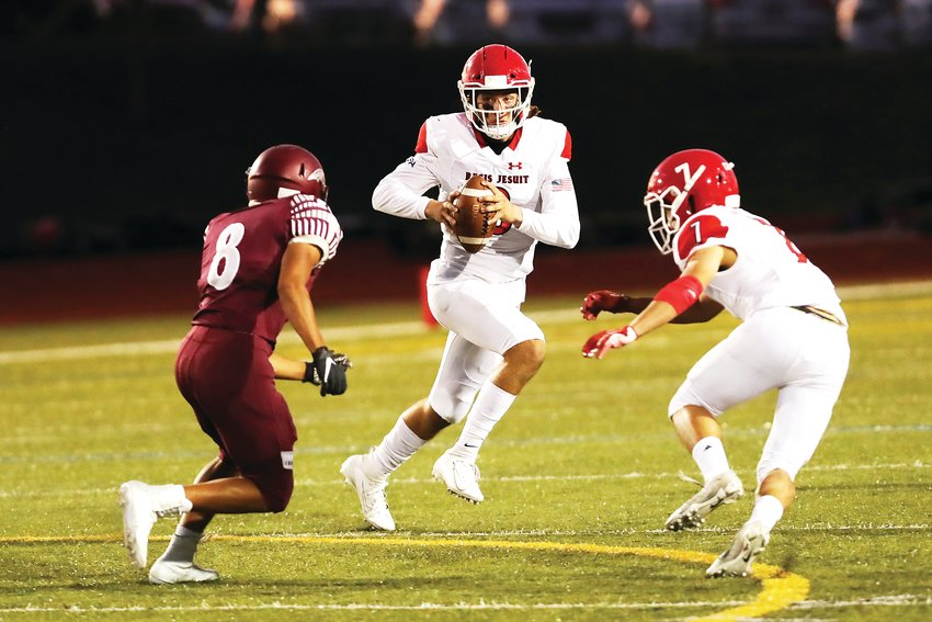 Regis Jesuit quarterback Nicco Marchiol is the Colorado Community Media Offensive Player of the Year.