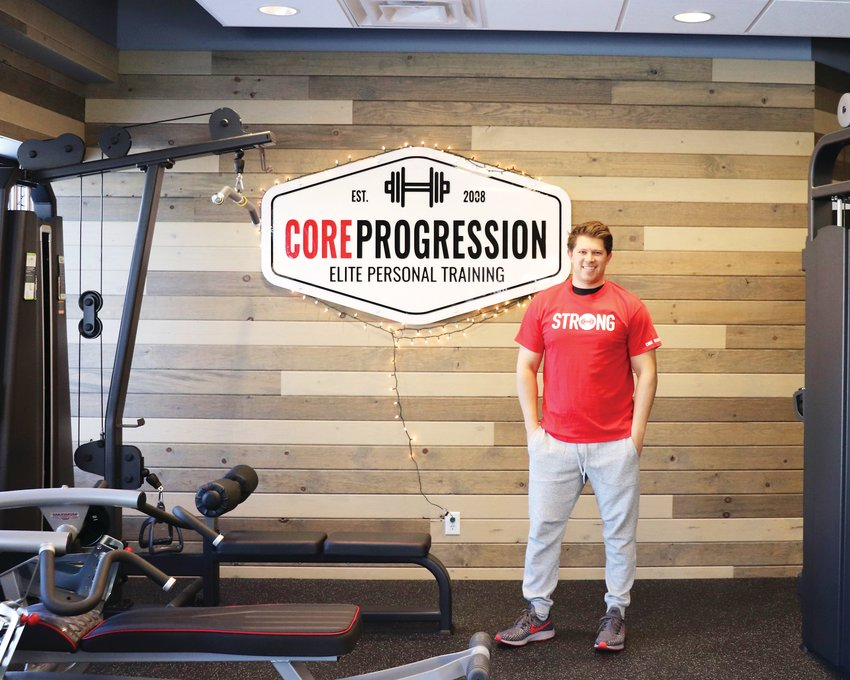 "Core Progression founder Jon Cerf at the gym's Olde Town Arvada location. Cerf opened his first location in 2010 and has since expanded to almost 20 locations across the country, with a goal of opening 500 one day. ""I've always figured if you're going to do something, go big,"" he said."