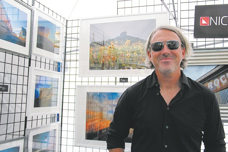Nick Lucey is president of a new art cooperative in Castle Rock.