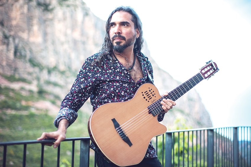 "Javier Gutierrez, better known as El Javi, is a guitarist of southeast Denver who uses his music as a form of expression. Dubbed ""The King of Rock Flamenco,"" El Javi kicked off a year-long international tour with a concert at Swallow Hill's Daniels Hall on Jan. 24."