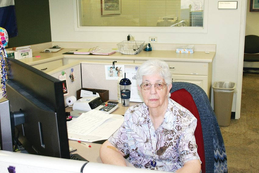 Emily Hack celebrated 50 years of employment with the Jeffco Clerk & Recorder's office on Jan. 13.