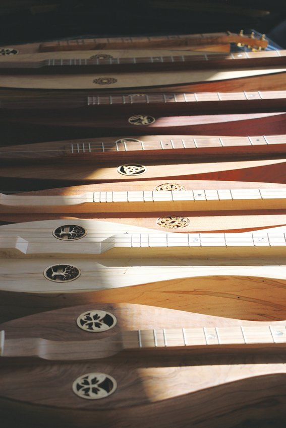 Mountain dulcimers for sale.
