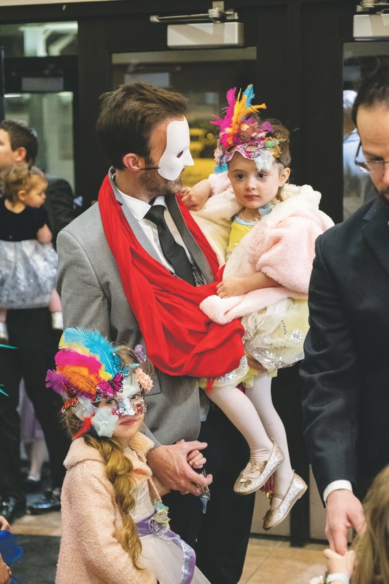 All ages are welcome at the Daddy Daughter Ball.