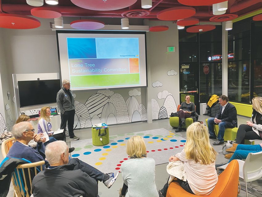 The first meeting of the Lone Tree Sustainability Team included motivated residents eager to make Lone Tree a more sustainable city. The committee will meet the first Thursday of each month at the Douglas County Library in RidgeGate from 6:30-7:30 p.m.
