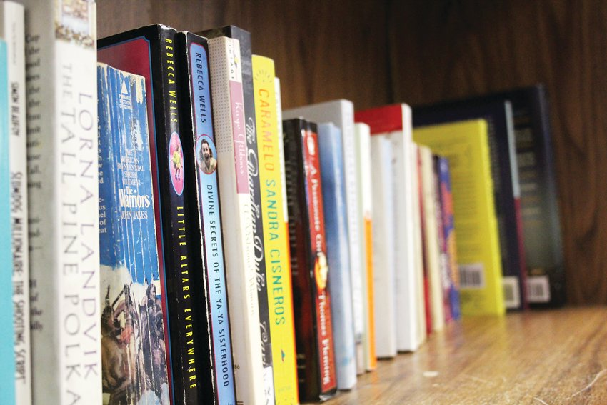 Books at Global Thrift. The store is filled with books, tools, records, furniture, purses, toys, clothes and more. According to the online resale marketplace thredUP, the resale market in 2018 hit $24 billion.