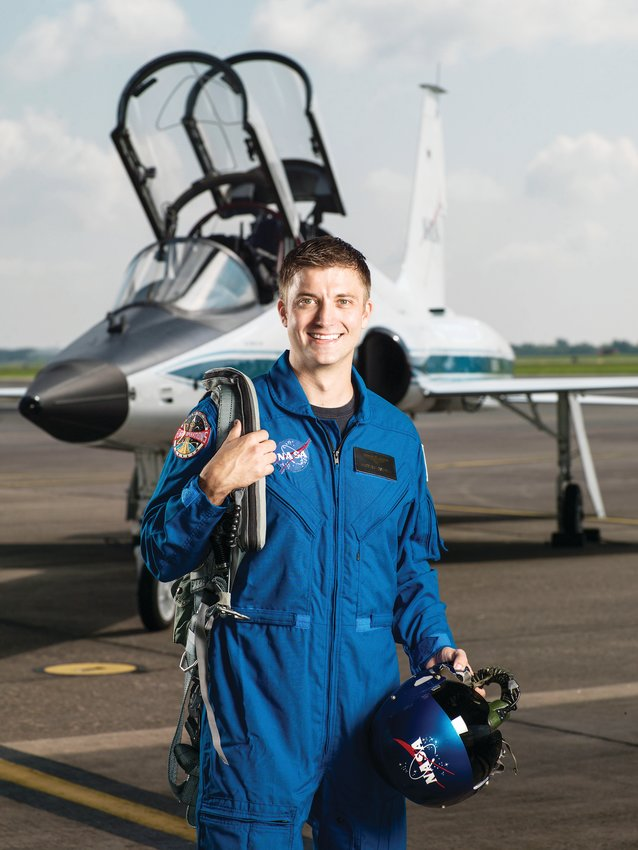 Former D'Evelyn student Matthew Dominick is now a test pilot for NASA and graduate of the Class of Astronauts 2017.